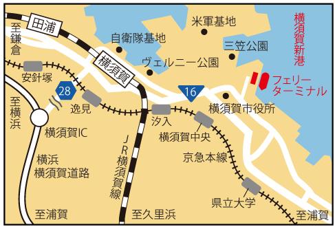 周辺地図の地図